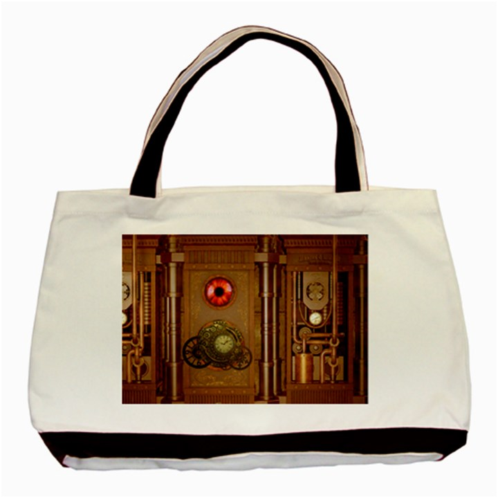 Steampunk Design Basic Tote Bag (Two Sides)