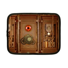 Steampunk Design Netbook Case (small) by FantasyWorld7