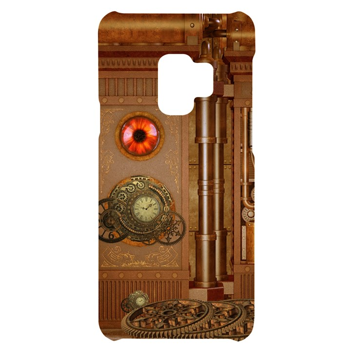 Steampunk Design Samsung S9 Black UV Print Case