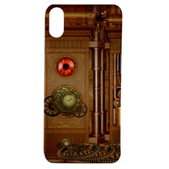 Steampunk Design Apple Iphone Xs Tpu Uv Case