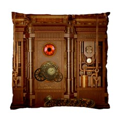 Steampunk Design Standard Cushion Case (one Side) by FantasyWorld7