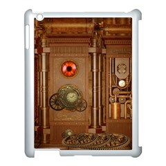 Steampunk Design Apple Ipad 3/4 Case (white)