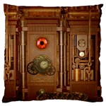 Steampunk Design Standard Flano Cushion Case (Two Sides) Back
