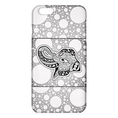 Elegant Mandala Elephant In Black And Wihte Iphone 6 Plus/6s Plus Tpu Case by FantasyWorld7