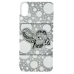 Elegant Mandala Elephant In Black And Wihte Apple Iphone Xs Tpu Uv Case