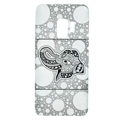 Elegant Mandala Elephant In Black And Wihte Samsung Galaxy S9 Tpu Uv Case by FantasyWorld7