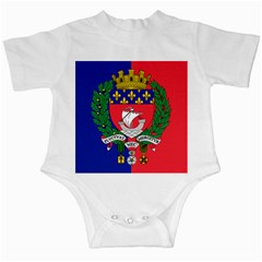 Flag Of Paris  Infant Creepers by abbeyz71