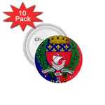 Flag of Paris  1.75  Buttons (10 pack) Front