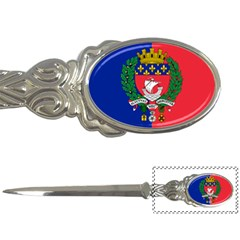 Flag Of Paris  Letter Opener by abbeyz71