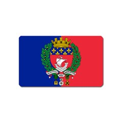 Flag Of Paris  Magnet (name Card) by abbeyz71