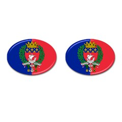Flag Of Paris  Cufflinks (oval) by abbeyz71