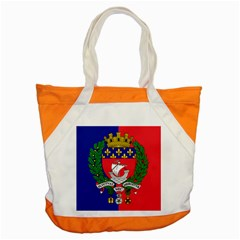 Flag Of Paris  Accent Tote Bag by abbeyz71