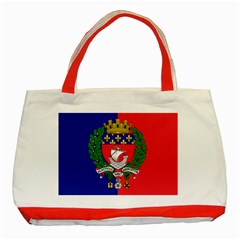 Flag Of Paris  Classic Tote Bag (red) by abbeyz71