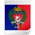 Flag of Paris  Canvas 36  x 48  35.26 x46.15  Canvas - 1