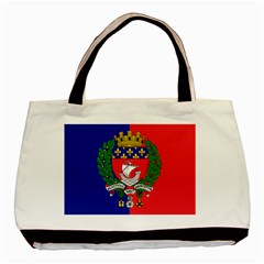 Flag of Paris  Basic Tote Bag (Two Sides)