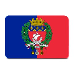 Flag Of Paris  Plate Mats by abbeyz71