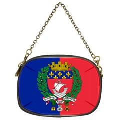 Flag Of Paris  Chain Purse (one Side)