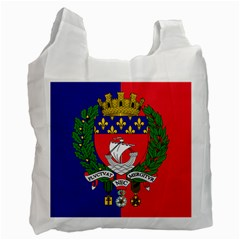 Flag Of Paris  Recycle Bag (one Side) by abbeyz71