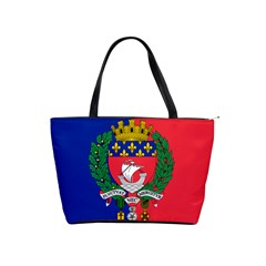 Flag Of Paris  Classic Shoulder Handbag by abbeyz71