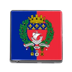 Flag Of Paris  Memory Card Reader (square 5 Slot) by abbeyz71
