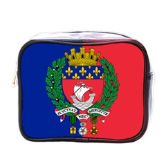 Flag Of Paris  Mini Toiletries Bag (one Side)