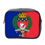 Flag of Paris  Mini Toiletries Bag (Two Sides) Front