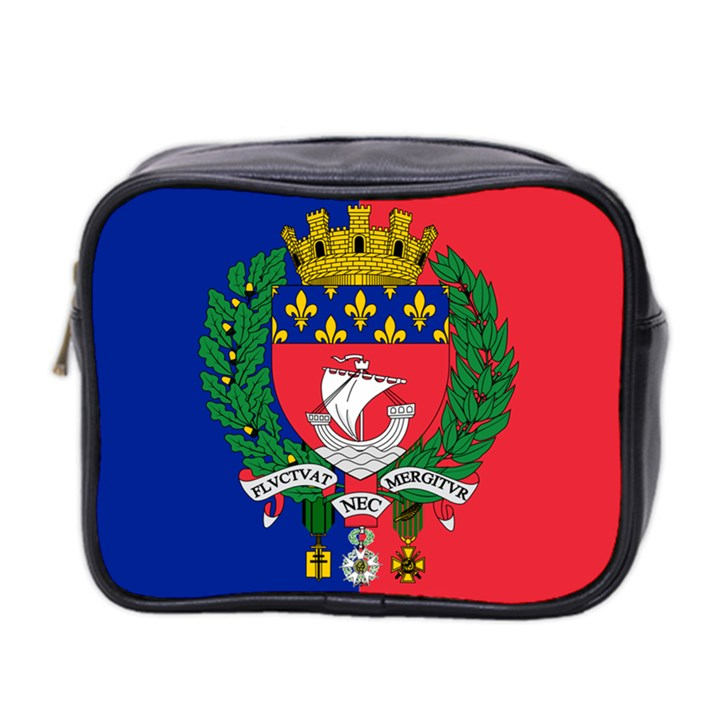 Flag of Paris  Mini Toiletries Bag (Two Sides)