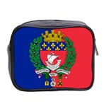 Flag of Paris  Mini Toiletries Bag (Two Sides) Back