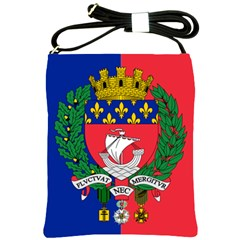 Flag Of Paris  Shoulder Sling Bag by abbeyz71