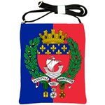Flag of Paris  Shoulder Sling Bag Front