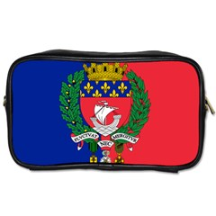 Flag Of Paris  Toiletries Bag (two Sides) by abbeyz71