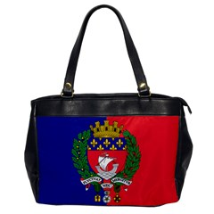 Flag Of Paris  Oversize Office Handbag by abbeyz71