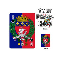 Flag of Paris  Playing Cards 54 Designs (Mini)