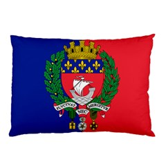 Flag Of Paris  Pillow Case (two Sides) by abbeyz71