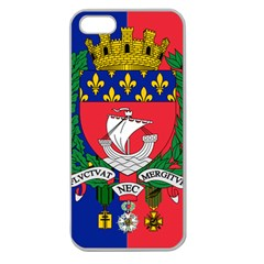 Flag of Paris  Apple Seamless iPhone 5 Case (Clear)