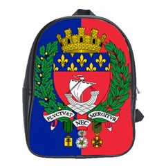 Flag Of Paris  School Bag (xl) by abbeyz71