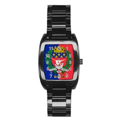 Flag Of Paris  Stainless Steel Barrel Watch by abbeyz71