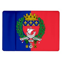 Flag Of Paris  Samsung Galaxy Tab 10 1  P7500 Flip Case by abbeyz71