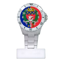 Flag Of Paris  Plastic Nurses Watch by abbeyz71