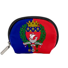 Flag of Paris  Accessory Pouch (Small)