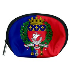 Flag Of Paris  Accessory Pouch (medium) by abbeyz71