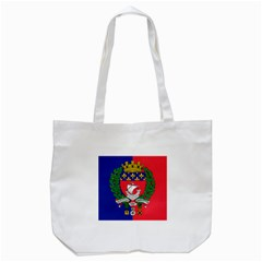 Flag Of Paris  Tote Bag (white)