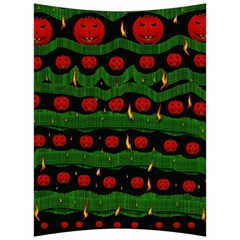 Pumkin Time Maybe Halloween Back Support Cushion by pepitasart