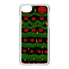 Pumkin Time Maybe Halloween Iphone 8 Seamless Case (white) by pepitasart