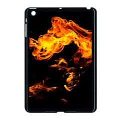 Can Walk On Fire, Black Background Apple Ipad Mini Case (black) by picsaspassion