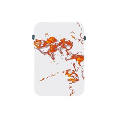 Can Walk On Fire, White Background Apple Ipad Mini Protective Soft Cases by picsaspassion
