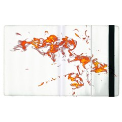 Can Walk On Fire, White Background Apple Ipad Pro 12 9   Flip Case by picsaspassion