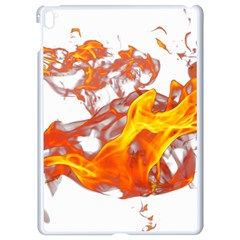 Can Walk On Volcano Fire, White Background Apple Ipad Pro 9 7   White Seamless Case by picsaspassion