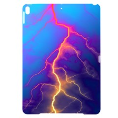 Blue Lightning Colorful Digital Art Apple Ipad Pro 10 5   Black Uv Print Case