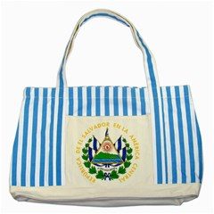 El Salvador Striped Blue Tote Bag